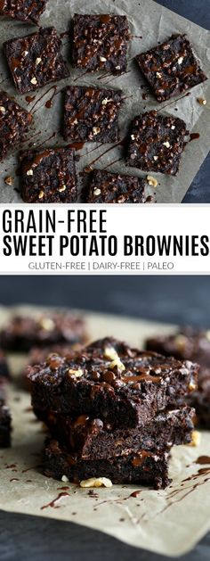 Grain-free Sweet Potato Brownies - The Real Food Dietitians