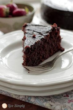 Grain Free Chocolate Cake (The BEST!)