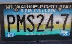 Great idea for a license plate.. don't cha think