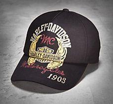 Embellished Adjustable Cap Harley Davidson Hats ff51e011bc3