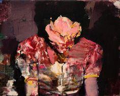 Adrian Ghenie. Pie Fight Study, 2012. Oil on canvas