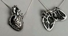Anatomically correct heart necklace! Haha love it.