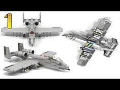 How To Build Lego A-10 Thunderbolt II (PART 1) - YouTube
