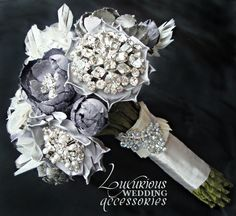 Wedding Bouquet Bling