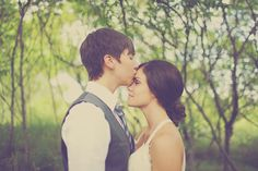 Ali & Emily's fairytale wedding in the woods- beautiful wedding- makes me feel less off-put by the idea of a tent wedding!
