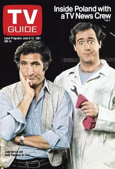 TV Guide June 6, 1981 - Judd Hirsch and Andy Kaufman of Taxi.