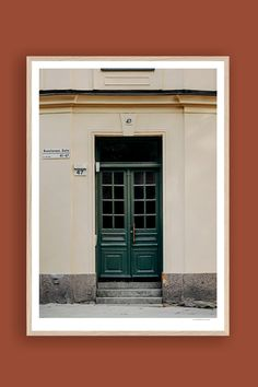 Tambur Gallery | Renstiernas Gata 50x70cm | TAMBURSTORE.SE Medusa, Stockholm, Branches, Garage Doors, Gallery, Outdoor Decor, Prints, Home Decor, Atelier