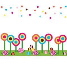 Art for candyland party by kellie julia helen lollipop yard art for