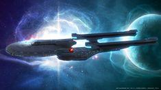 Ode to USS Enterprise NCC 1701 B by Mechinus