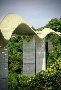 Henderson bridge in Singapore.