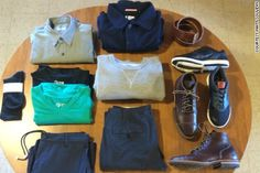 How to wear only 10 clothing items for a year