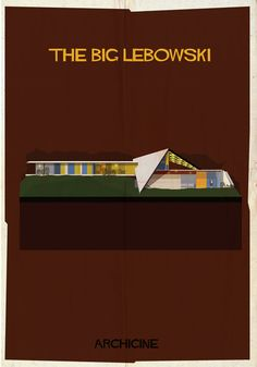 I'm going to guess this illustration from architecture in film series will be popular with a few friends.