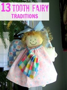 13 Tooth Fairy traditions (did you know other countries call it a Tooth Mouse?)