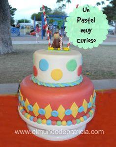Curious George Cake/ Pastel de Jorge el Curioso 13th Birthday Parties, Birthday Ideas, Birthday Cake, Cake Decorating, Cakes, Party, Desserts, Food, Tinkerbell