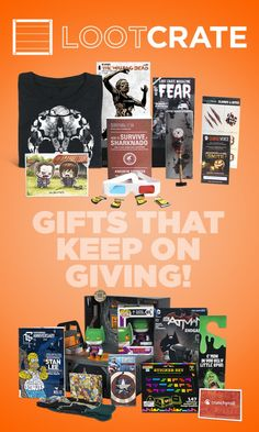 Gift Ideas On Pinterest Monthly Subscription Boxes