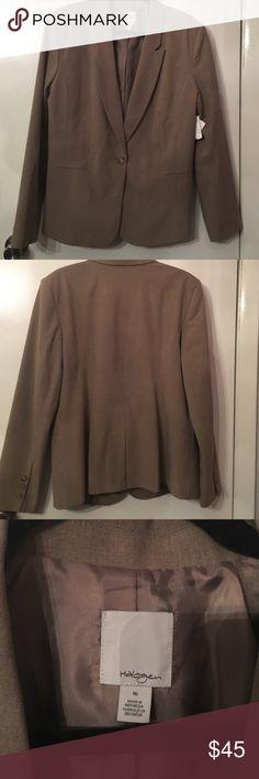 Halogen brown blazer NWT FINAL PRICE NWT Halogen Jackets & Coats Blazers
