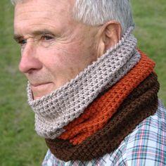 Crochet Pattern - Mens Cowl Pattern by HiddenMeadowCrochet