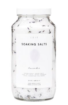 Pure Soaking Salts -