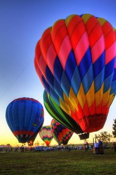 Brilliant Colored Balloons