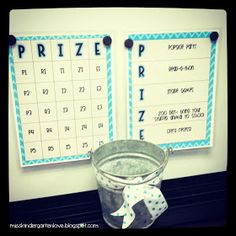 Miss Kindergarten: Behavior Bingo- Management Idea