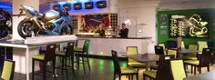 The Famous sports bar at the Thistle Brands Hatch Hotel the home of famous motor racing in Kent