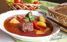 24 nejlepších zimních polévek, které vás zahřejí a zasytí! Food N, Good Food, Pot Roast, Thai Red Curry, Chili, Cooking Recipes, Beef, Snacks, Meals