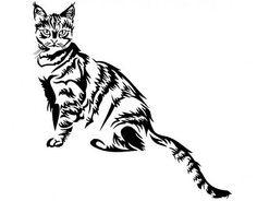 . Vinilo Decorativo Tema Animales Gatos 5 0634