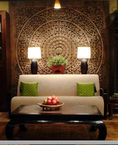 Wooden Panel, Thai Room