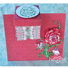 Heartfelt Creations - Gift Box Card Project