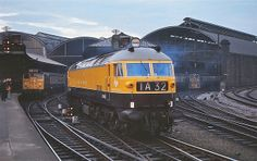 One of the most beautiful diesel locos ever built ,HS4000 KESTREL at Newcastle Central Stn. 20.10.69 by George of Dufton, via Flickr