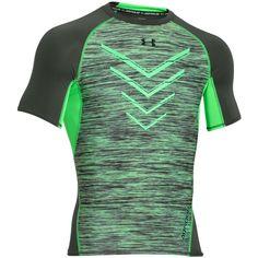 ed35dbb1de Under Armour - Black Men's Compression Heatgear Space-dyed T-shirt for Men  - Lyst