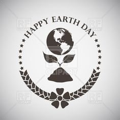 Earth day design, 110512, download royalty-free vector clipart (EPS) Free Vector Clipart, Clipart Design, Vector Graphics, Vector Icons, Earth Day, Royalty, Clip Art, Club, Illustration