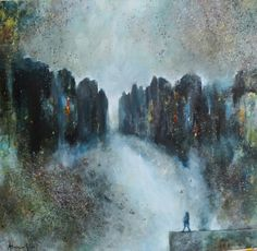 #adrienne silva artist Painter Artist, Lisbon, Abstract Expressionism, Impressionist, Landscape Paintings, Muse, Contemporary Art, Oil, Impressionism