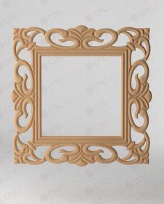 CNC KESİM DEKORATİF AYNA ÇERÇEVESİ Cnc Cutting Decorative Mirror Frame www.cncahsap.net Cnc Projects, Projects To Try, Cnc Wood, Dressing Mirror, Architrave, Scroll Saw Patterns, Hobbies And Crafts, Wood Art, Accent Decor
