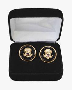 Presidential cufflinks