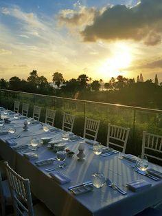 Sunset cues the start of this romantic reception dinner on the Ivanka Terrace. #WeddingWednesday #TrumpWaikiki #Waikiki #Hawaii #Sunset #Dinner #Reception #Destination #Wedding #Venue #Love #Paradise Trump International Hotel Waikiki Beach Walk - Google+