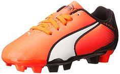 nice PUMA Adreno Firm Ground JR Soccer Shoe (Little Kid/Big Kid)