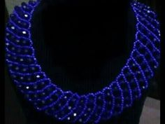 the tutorial on how to make this hand made beaded jewelry necklace. - YouTube #jewelrynecklaces