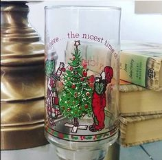 1977 Coca-Cola Holly Hobbie American Greetings Collectible Merry Christmas Glass, Tumbler, Vintage Coca Cola, Holly Hobbie Collector by TurnThePageBookShop on Etsy