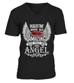 # AUGUSTINE WAS SO AMAZING GOD MADE HIM AN ANGEL .  AUGUSTINE WAS SO AMAZING GOD MADE HIM AN ANGEL  A GIFT FOR A SPECIAL PERSON  It's a unique tshirt, with a special name!   HOW TO ORDER:  1. Select the style and color you want:  2. Click Reserve it now  3. Select size and quantity  4. Enter shipping and billing information  5. Done! Simple as that!  TIPS: Buy 2 or more to save shipping cost!   This is printable if you purchase only one piece. so dont worry, you will get yours.   Guaranteed…