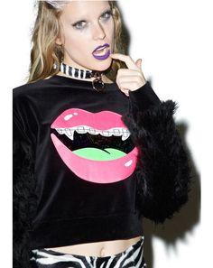 Hanna Neon Lips Jumper