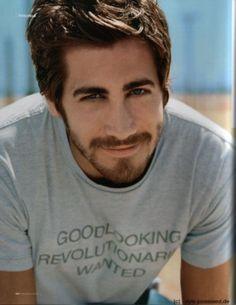 Jake Gyllenhaal poster, mousepad, t-shirt, Beautiful Men, Beautiful People, Haircuts For Men, Men's Haircuts, Jake Gyllenhaal, Interesting Faces, Keanu Reeves, Celebs, Celebrities