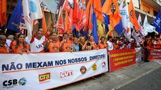 """BLOG ALVARO NEVES """"O ETERNO APRENDIZ"""" : CENTRAL SINDICAL FAZEM PROTESTO EM CAPITAIS CONTRA..."""