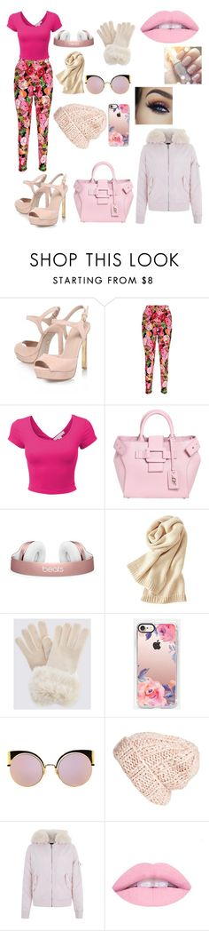 """""""Spring"""" by the-imaginative-one ❤ liked on Polyvore featuring KG Kurt Geiger, Boohoo, LE3NO, Roger Vivier, Uniqlo, Casetify, Fendi, Free People and New Look"""