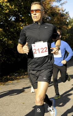 Alexander Stubb Running with Zero Point