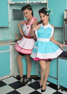 ALexis Capone and Lily Deathstarr  #American_Pinups