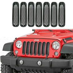 One Simply plug-n-play O. replacement item kit Easy Installation Fits Jeep Wrangler Pack of two lights in one box Lens Material : PMMA Waterproof, 2015 Jeep Wrangler Sport, Jeep Wrangler Unlimited, Wrangler Jeep, Jeep Rubicon, Blue Jeep, Red Jeep, Jeep Wrangler Accessories, Jeep Accessories, Jeep 4x4