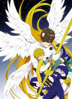 angemon y takeru
