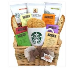 Starbuck Gift Basket Sweepstakes Ends April 4, 2015