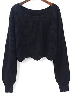 SHARE & Get it FREE | Scalloped Cropped SweaterFor Fashion Lovers only:80,000+ Items • New Arrivals Daily Join Zaful: Get YOUR $50 NOW!
